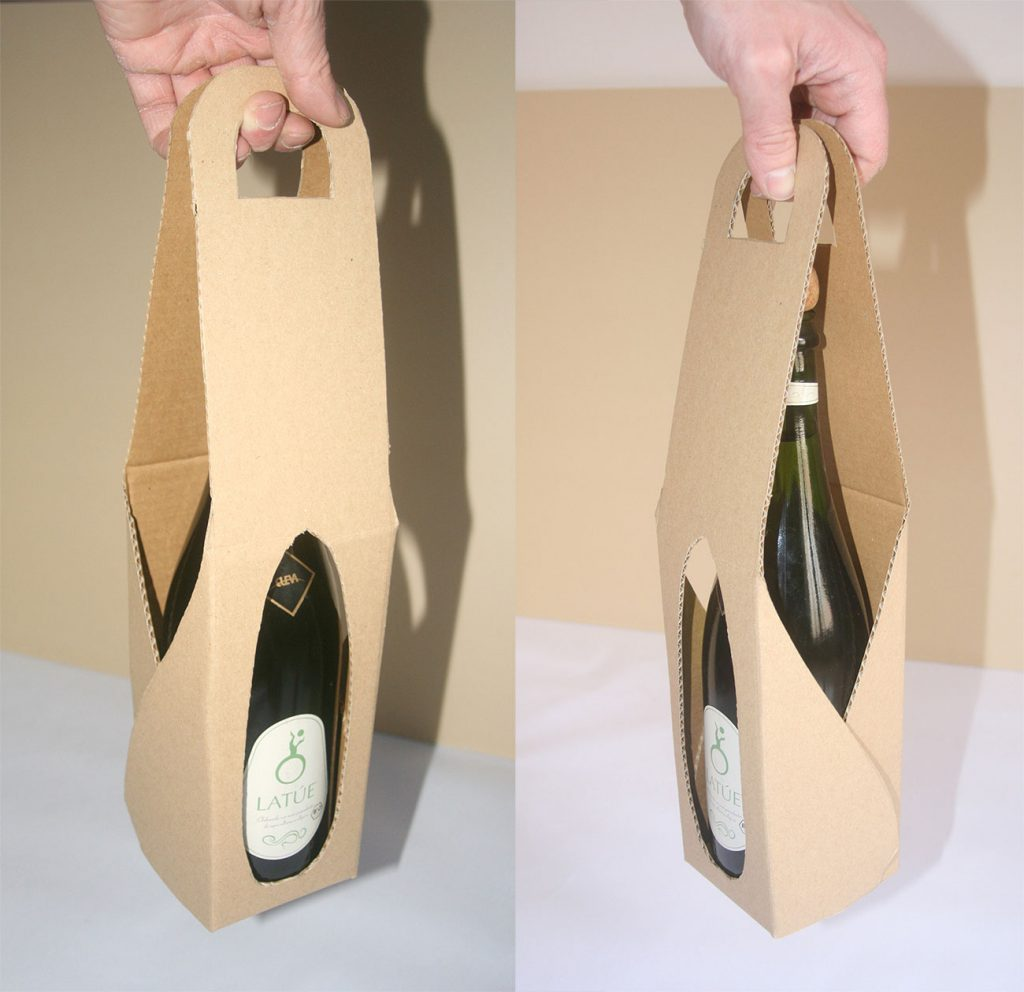 Packaging botella de cava